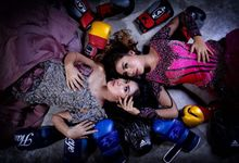 photoshoot Dewi Dewi ( Tika & Nara )  by Esteem Beauty
