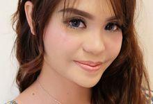 Denanda bridesmaid by Make Up by Lala