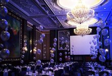 Ballroom Table Centerpieces by Balloon Blasters