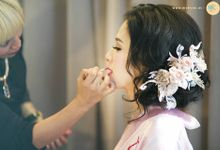The wedding of Ivin Kawenpy & Jessica by Momiji makeup artist & Co