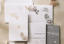 Rifa & Ridhan by Peony and Brides Invitation