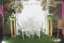 Wedding Arif &Depi by Kyukyu organzier