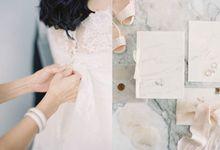 G&T Romantic Garden Wedding by Flying Bride