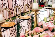 Glamourous Pink Ombre Wedding at Ayana by Flora Botanica Designs