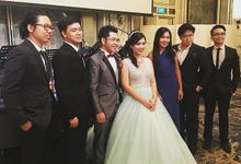 Four Instruments Music at Shangrila Singapore - Anton Honoris & Imelda Wongso Wedding by Ring of Blessings