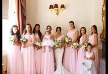 Bridal party by Marcy Lee Brooks