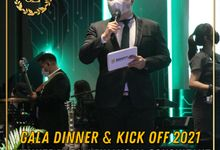 GALA DINNER PT IDREAM FINANSIAL KONSULTAN - DOUBLE THREE HOTEL SURABAYA by JIMMY & LIECHEN MC and Magician Wedding Specialist