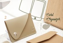 Assymetric Card Organizer by McBlush Merchandise Service by Mcblush Merchandising Service
