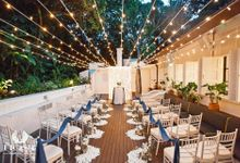 Roof of Stars Solemnisation Wedding by Botanico @ The Garage