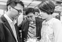 David & Huiqi Wedding Day by Love Crafted