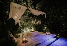 Evening look of The Glass House by Tirtha by Tirtha Bali