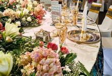 Wedding Reception at BCCK, Kuching by The Veil