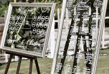 The Wedding of Daniel and Christina by Pi Calligraphy
