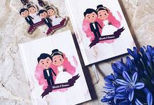 Veronica and Winarto Wedding Favor by Molusca Project