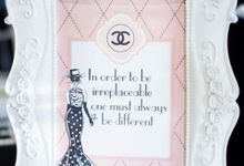 Fashionably Coco Chanel // VINDY'S BRIDAL SHOWER by POSH DECORATION