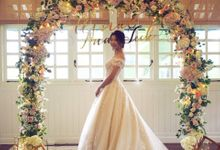 Wedding of Olivia by Florals by Benita