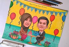 Caricature Drawing by Ramker Studio
