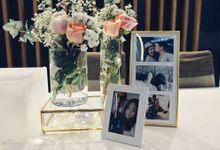 Ervin & Gen - Minimalist Reception by Lily & Co.