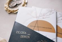 Olgha & Irwin by Peony and Brides Invitation