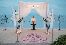 Balinese Wedding Commitment by Sadara Boutique Beach Resort