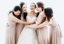 Beige at Frangky Amor Wedding by ARTECOLA