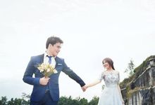 Ivan and Ryn Cherrybelle Prewed and Wedding day by Dorren Mallory Prestige