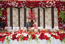 Halim & Angela Engagement by SH Printing and Hampers