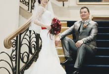 Vito and Felicia at Kuningan City Ballroom by She La Vie Organizer & Decoration