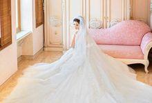 WEDDING DAY FOR RUSSEL & STELLA by Fedya Make Up Artist