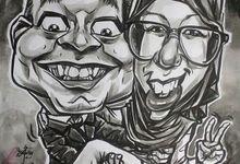 Wedding Souvenir by Bali Karikatur