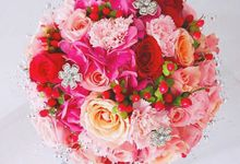 Round Bouquet Collection by Il Fiore