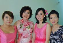 Bridesmaids & Mothers Makeup & Hairstyling by Immortelle Atelier