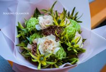 Beautiful Customise Bridal Bouquets by Seasons Glamour Floral Arts Pte Ltd