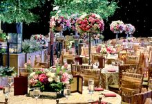 The wedding of Aby and Arsila by Amarillis Floral and Party Decorator