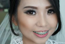 Makeup For Ms.Erliana by Sasa_MakeupArtist