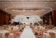 New Normal Wedding Decoration of Anthony & Vella by IKK Wedding Venue