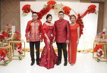 Sangjit Vincent & Angel by Calysta Sangjit Decoration