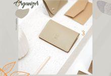 Card Organizer with Flap Closure by McBlush Merchandise Service by Mcblush Merchandising Service
