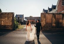 Kaylen & Anson by Chateau Challain Events