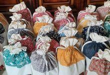 Muna Bucket Drawstring Pouch Batik Cap by Marvala Souvenir