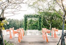 Forest Pool Wedding by Bisma Eight