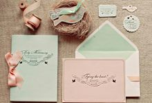Wedding Invitation by Le Paperville