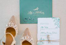 Wedding of Ana Octarina & Adie Baron by Tirtha Bridal