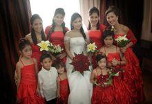 Llaban and Rosaroso Wedding by Project Events Cebu