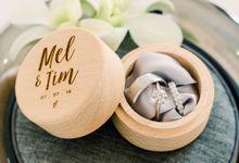 Wedding of Melissa & Timothy by Tirtha Bali