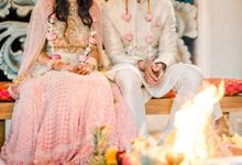 Indian Wedding at Tirtha Uluwatu by Tirtha Bali