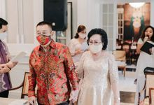 50th Anniversarry Mr. Fred and Lely by The Batik Atelier