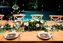 Issa and Wing Wedding Dinner by Alila Ubud