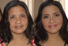 Entourage and Wedding Guests by Sabrina Rimando Makeup Studio