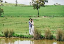 Yarra Valley Prewedding of Virginia & Felix by Story Of Melbourne